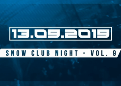 Snow Club Night Vol. 9